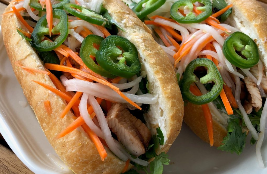 Grilled Turkey Bahn Mi